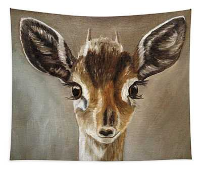 Big Eyes Dik-dik Tapestry
