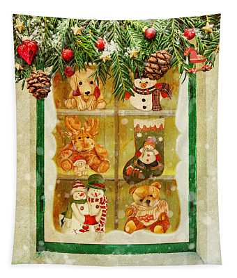 Welcome Christmas Tapestry