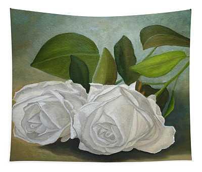 White Roses Tapestry