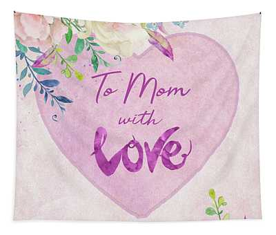 Mother's Day Wishes Tapestry