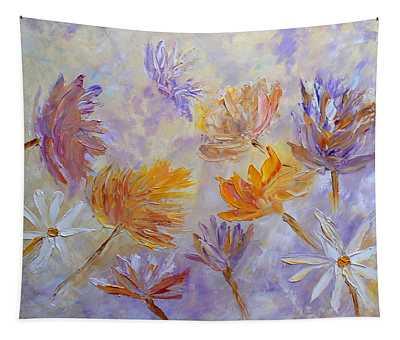 Purple Blaze Tapestry