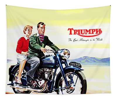 Triumph 1953 Tapestry