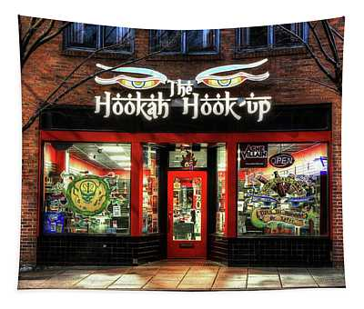 Asheville's The Hookah Hook Up Shop Tapestry