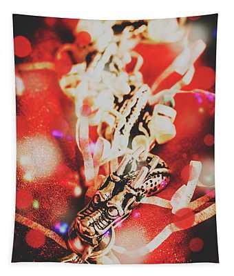 Asian Dragon Festival Tapestry