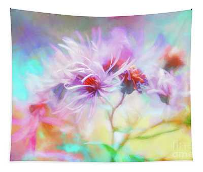 Asters Gone Wild Tapestry