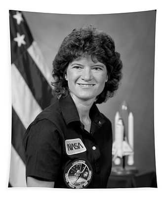 Astronaut Sally Ride  Tapestry