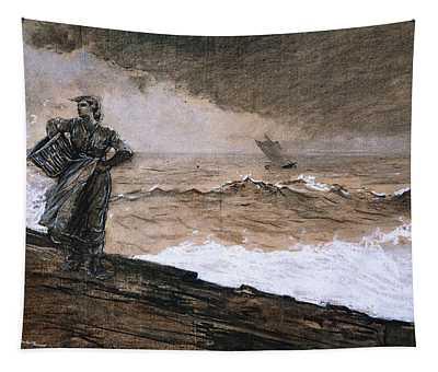 At High Sea Tapestry