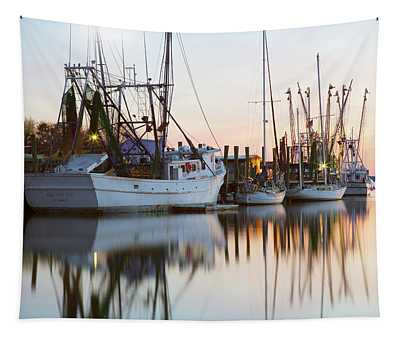 At Rest - Shem Creek Tapestry