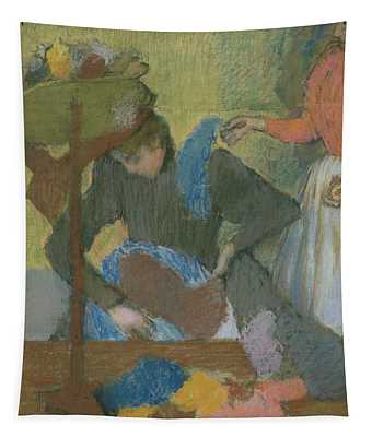 At The Hat Maker Tapestry
