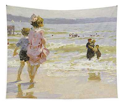 At The Seashore Tapestry