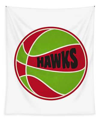 Atlanta Hawks Retro Shirt Tapestry
