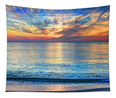 Atlantic Sunrise  Tapestry