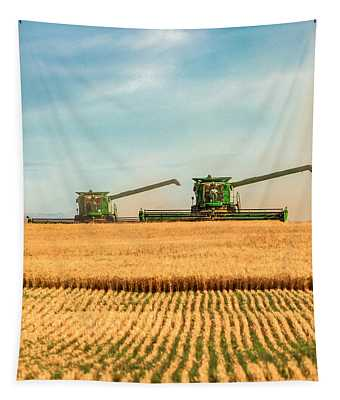 Augers Out Tapestry