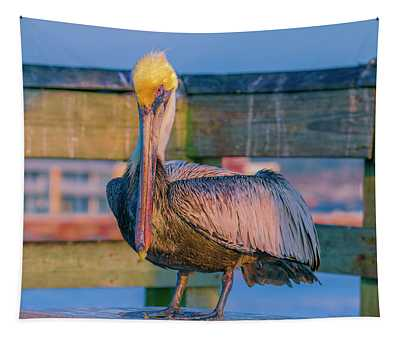 Augustine Pelican Tapestry