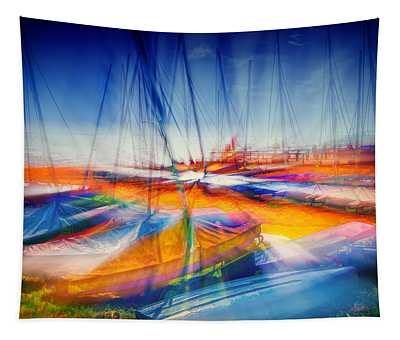 Aurora Boatealis  Tapestry