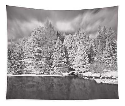 Ausable River Infrared 6295 Tapestry