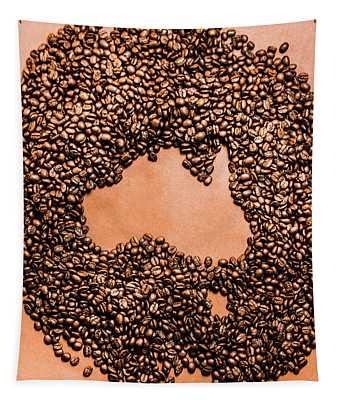 Australia Cafe Artwork Tapestry
