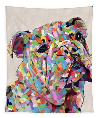 Australian Bulldog  Tapestry