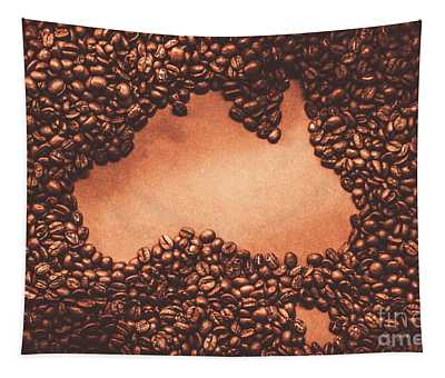 Australian Made Coffee Tapestry