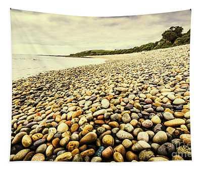 Australian Rocky Shoreline Tapestry