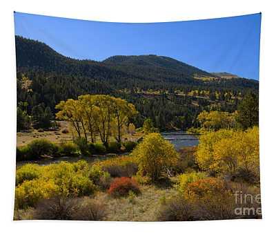 Autumn Along The Rio Grande Tapestry