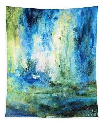 Spring Rain  Tapestry