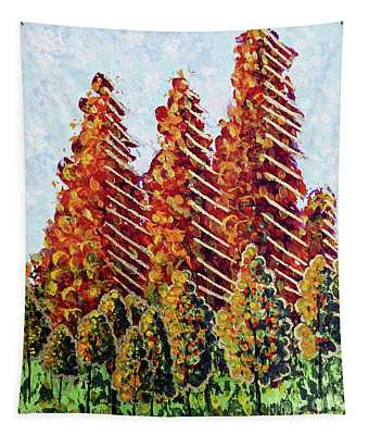 Autumn Christmas Tapestry