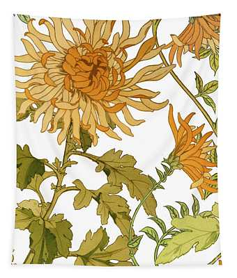 Autumn Chrysanthemums I Tapestry