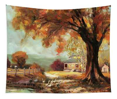 Autumn Dreams Tapestry