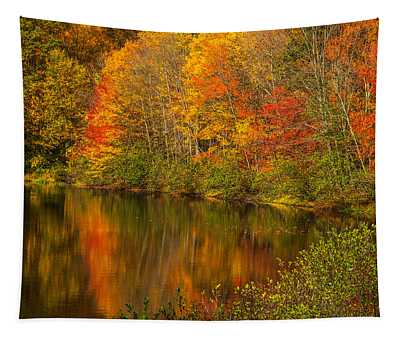 Autumn In Monroe Tapestry