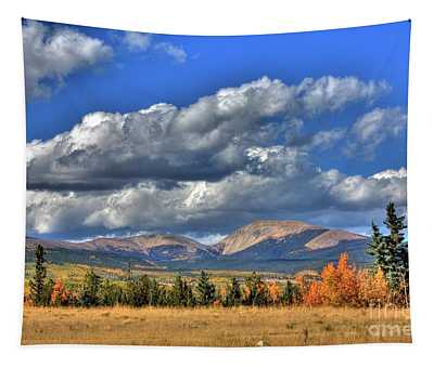 Autumn In The Rockies Tapestry