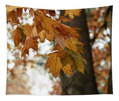 Autumn Leaves 2- By Linda Woods Tapestry