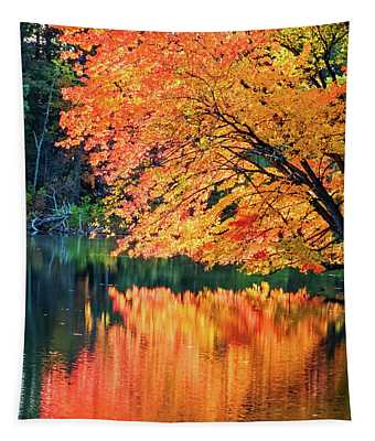 Autumn Magic Tapestry