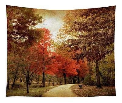 Autumn Maples Tapestry