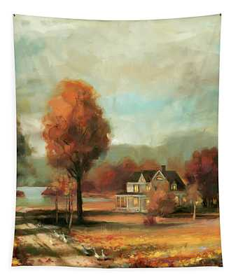 Autumn Memories Tapestry