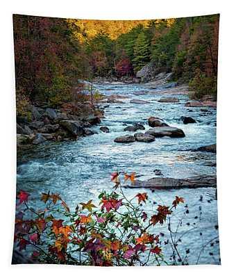 Autumn On Wilson Creek Tapestry