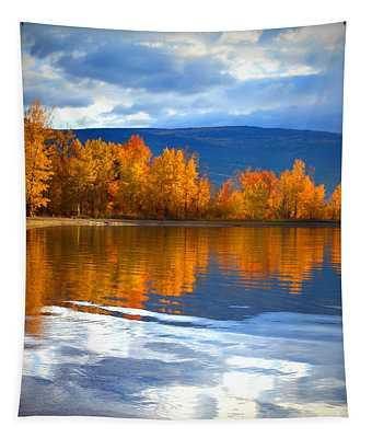 Autumn Reflections At Sunoka Tapestry