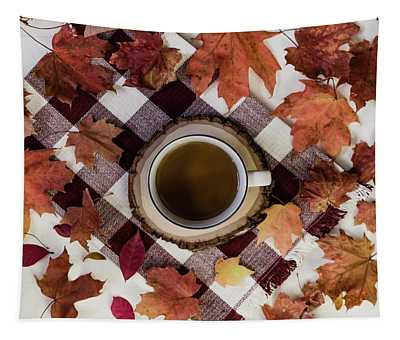 Autumn Tea Time Tapestry