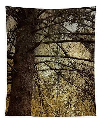 Autumn Trees In Sweden Tapestry