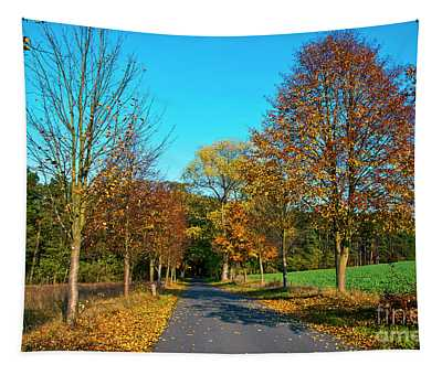 Autumnal Feeling Tapestry