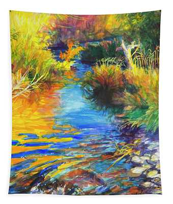 Autumnal Reflections Tapestry