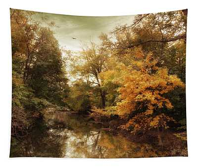 Autumn's Allure  Tapestry