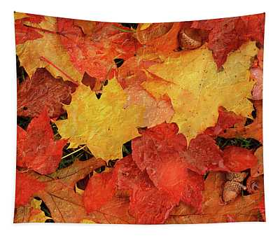 Autumns Gifts Tapestry