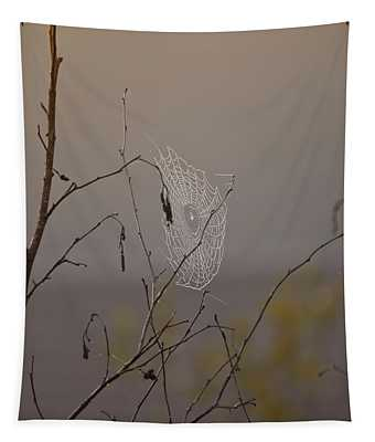 Autumns Web Tapestry