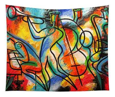 Avant-garde Jazz Tapestry