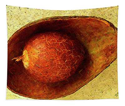 Avocado Seed And Skin I Tapestry