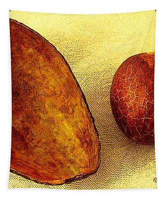 Avocado Seed And Skin II Tapestry