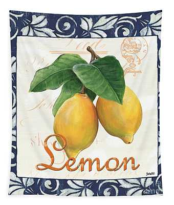 Azure Lemon 1 Tapestry