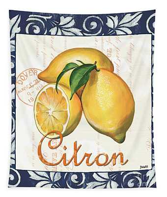 Azure Lemon 2 Tapestry
