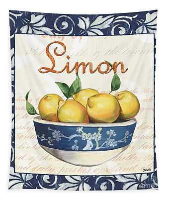 Azure Lemon 3 Tapestry